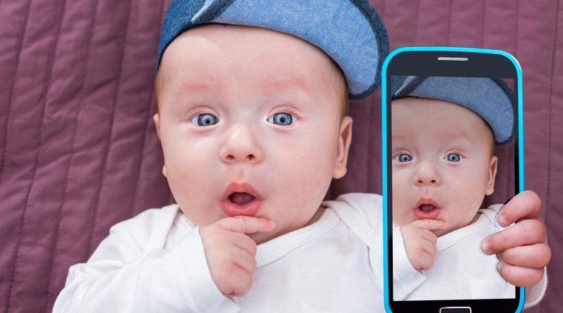 aplicaciones para tomarle fotos a tu bebé