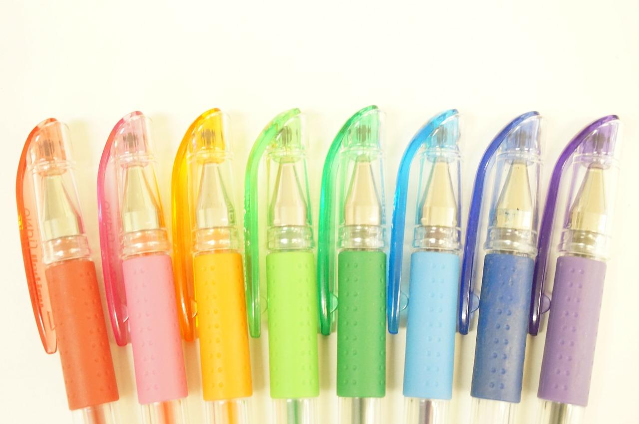 Bolígrafo verde